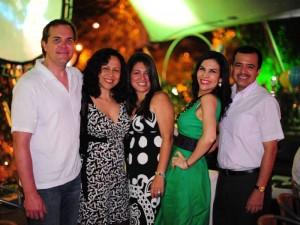 Mercedes Reyes celebró su cumpleaños en compañía de sus familiares.