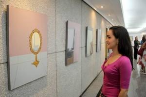 Cindy Martínez Jamza en Nuevos Talentos de la Cámara de Comercio de Bucaramanga.