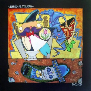La exposición de arte de Boris Alberto Zárate está abierta hasta el 31 de agosto.