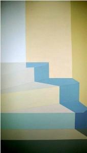 Obra titulada 'En la infinidad del  pensamiento'.