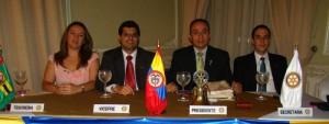Blanca Cifuentes, Pedro Luis Gamboa, Andrés Gómez Ocampo y Sergie Gerardo Rojas.