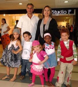 Saray Sofía Quiroz, Sara Duarte Otálora, David Mateo Vargas, Fay Shai Pérez, San-tiago González, Pedro Nel Blanco, Lita Herrera.