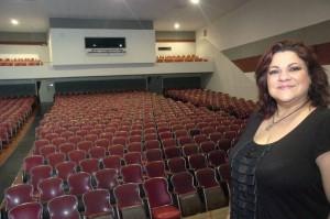 Sandra Barrera fue la gestora principal de la recuperación del teatro.