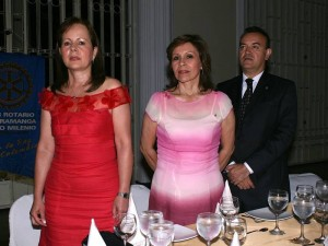 Leonilde Martínez, Marlene Niño y Alejandro Ruiz.
