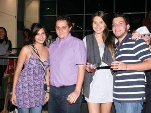 Estefanía Pedraza, Sergio Bustos, Silvia Jaimes y Javier López.