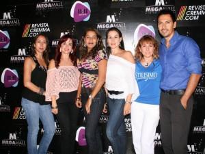 Andrea Pava, Diana Milena Olaya, Ximena Pilonieta, Silvia Chacón, Edith Rojas y Alberto Guerrero.
