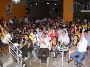 En la discoteca María Casquitos, en el partido Colombia – Corea del Sur.