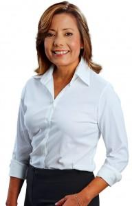Marta Pinto, candidata a la Alcaldía de Bucaramanga.