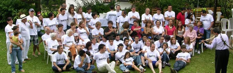 Primer encuentro e integración de la familia Nieto.