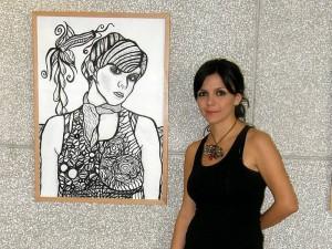 Nancy Ospina, uno de los 'Nuevos Talentos' del programa liderado por la Cámara de Comercio de Bucaramanga.
