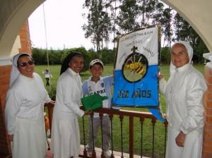 Niños y adultos participaron en el Festival de Cometas 2011.