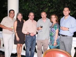 Juan Max Sáchica, Yamile Sarmiento, Diego Henao, Gustavo Driespiel, Ana María Zuluaga y Carlos Mario Lafauri.