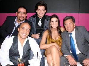 Duglas Bernal Gordon, Carlos Malave, Gavo Figueira, Ruddy Rodríguez y Daniel Páez.