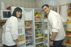 Lina María Bergsneider y Mario Fernando Camelo Serrano, chef profesionales de Bucaramanga.