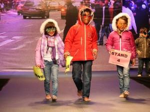 La moda infantil también tuvo su espacio en el 'Mes de la Moda'