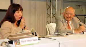 María Jimena Duzán y Plinio Apuleyo Mendoza