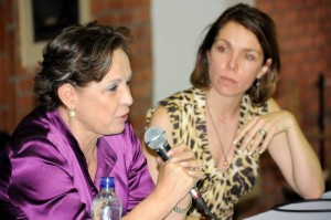 Judy Henríquez y su hija Adriana Romero Henríquez