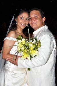 En días pasados contrajeron matrimonio Angélica María Sarmiento y Héctor Santander.