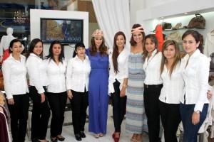 Mary Palacio, Yohana Hernández, Sandra Rodríguez, Andrea Palacio, Martha Juliana Arenas, Adriana Liévano, Silvia Becerra, Yolimar Zapa-ta, Jenny Cáceres y María Fernanda Gómez.