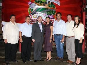 Alberto Malaver, José Gómez, Rodrigo Fernández, Lucy Guerrero, Óscar Pinzón Estévez, Néstor Castro Neira y Martha Lizcano.