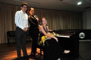 Julián Quintero, Yesenia Ariza y Andrea Buitrago Quiñónez.