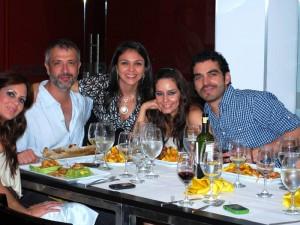 Ana B. Osorio, Gonzalo Vivanco, Alexandra Gómez Valek, Diana Ángel y Tiberio Cruz.