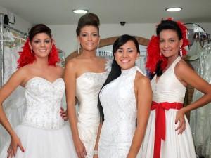 Stefanny Giraldo, Yuli Vásquez, Marcela Saavedra y Paola García.