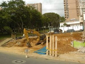 Estas son las obras que según los vecinos afectan la tranquilidad de la zona.