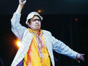 El espectáculo en mención fue el de Suso, presentado hace pocos días en Bucaramanga.