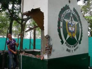 Cinco meses han pasado desde la demolición del antiguo CAI San Pío y su reconstrucción.
