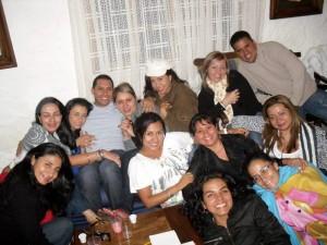 Melisa Madrigal Angarita celebró junto a un grupo de amigos su cumpleaños.