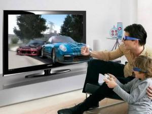 Televisores en 3D lo último de la tecnología.