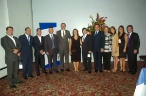 Empresarios distinguidos de la ciudad participación el evento Bancolombia Constructores. (César Flórez)