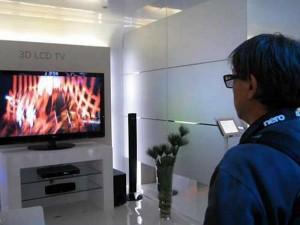 La nueva tecnologia televisores 3D.