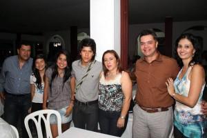 William Cortés, Laura Cortés, Paula Ayala, Camilo Cortés, Deyanira Parada, Lácides Pumarejo y Luisa Fernanda Blanco.