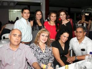Rubén Aldana, Beatriz Vélez, Silvia Rueda, Benjamín Villabona, Manuel Alejandro Vega, Keylla Nathalia Araque, Karen Blanco y Paola Aldana.