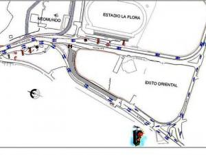 Así será la movilidad en la zona de La Flora y Neomundo a partir de este fin de semana.