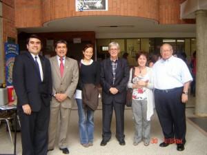 Director Nacional de Colciencias en las UTS.
