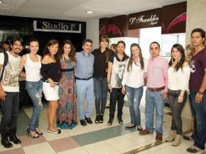 Maldonado, Natalia Navarro, Cecilia Ortiz, Angélica Natalia Pinilla, Julián Maldonado, Angélica Quiroga y Carlos Lemus