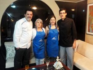 Franco Basile, Martha Ballesteros, Martha Salcedo y Juan Camilo Villamizar.