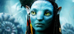 "Imagen de la exitosa película en 3D ""Avatar""."