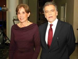 Enrique Pimiento y Patricia Acevedo de Pimiento.