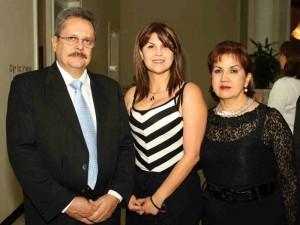 Luis Fernando Galvis, Luz Helena Caicedo y Martha Mercedes Ortiz.