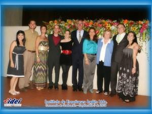 Sonia Hernández, Jaime Cruz, Tracy Lorenz, Sam Bennett, Sergio Torres Barrera, Martha Bohórquez, Joan Morley, César A. Granados Morales y Carolina Gamboa.