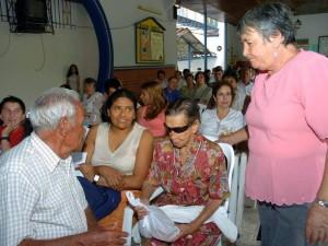 La Fundación Albeiro Vargas y Ángeles Custodios trabaja por los adultos mayores desamparados.