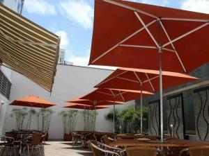 Este es el despejado y tranquilo restaurante de Fénix.