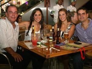 Gonzalo Callejas, Laura Torres Puyana, Catalina Pérez y Jorge Serrano.