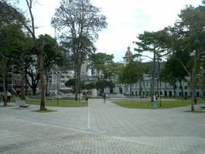 Plaza de Bolívar de Ibagué (Tolima).
