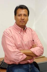 Fabio Peña, editor de Gente.