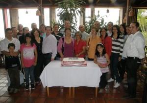 Familia Jiménez Valenzuela.
